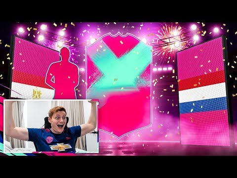 OMFG I PACKED 2 FUT BIRTHDAY CARDS!!! FIFA 19 Pack Opening!