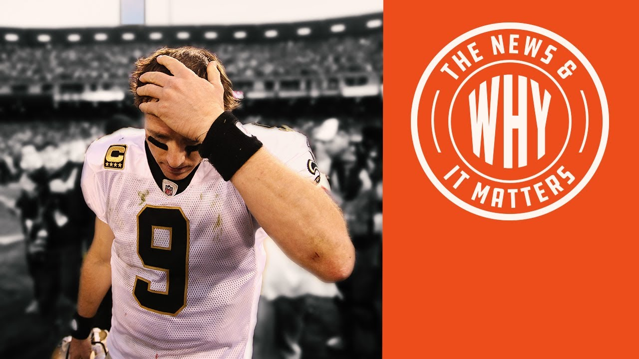 NFL Star Drew Brees KNEELS to the Outrage Mob in Record Time! | The News & Why It Matters | Ep 5