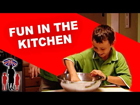 Supernanny  Kids Have Fun Cooking with Dad