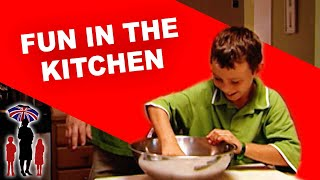Supernanny | Kids Have Fun Cooking with Dad