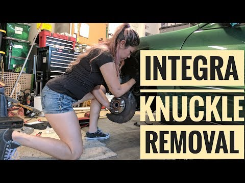 How to Remove Integra Knuckles
