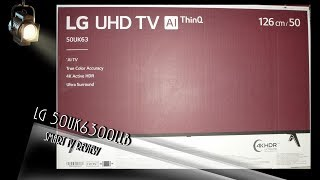 LG 50UK6300LLB UHD TV Review Deutsch