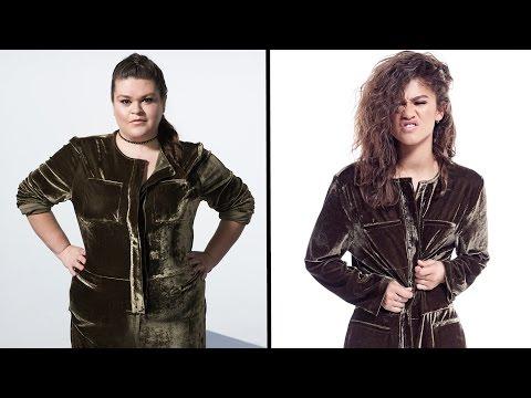 Women Try Zendaya's Size-Inclusive Clothing Line