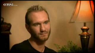 Nick Vujicic - God will not give up on u ..