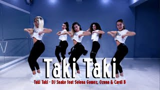DJ Snake feat Selena Gomez, Ozuna & Cardi B - Taki Taki -  Best Version Dance Video
