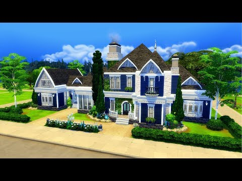 The Sims 4 || Speed Build || Cheshire Family Mansion