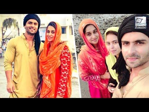 Newlywed Shoaib And Deepika Visit Haji Ali Dargah