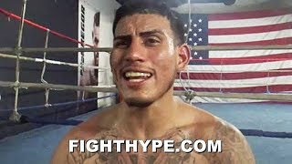 """JOSE BENAVIDEZ WARNS TERENCE CRAWFORD """"I SWITCH SOUTHPAW TOO""""; INSISTS HE"""
