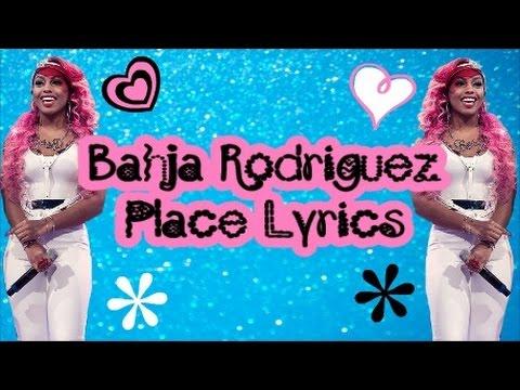 Bahja Rodriguez - Place (Lyrics)
