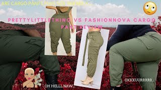 ARE CARGO PANTS PLUS SIZE APPROVED?? WHAT THE F%$$K...