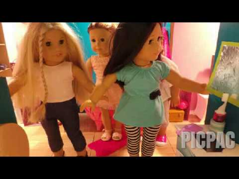 American girl stop motion  family #picpac...