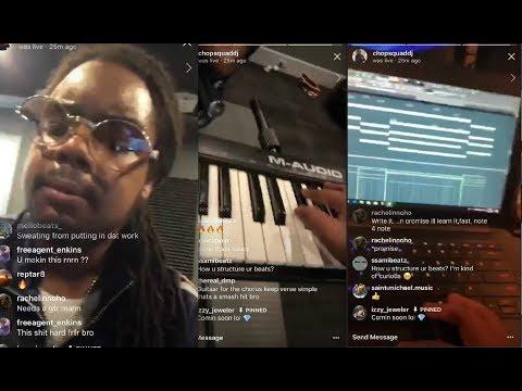 Chopsquad DJ Cooking Melodic Trap Beats