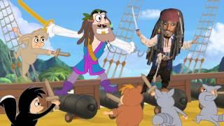 Piratas da Terra do Nunca - Paródia MAD