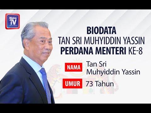 Biodata Tan Sri Muhyiddin Yassin Perdana Menteri Ke 8 Youtube
