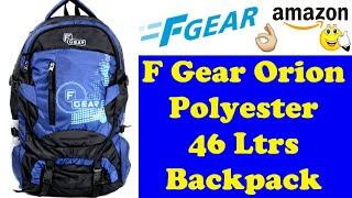 F Gear Orion Polyester 46 Ltrs Backpack | Trekking Backpack | Laptop Backpack