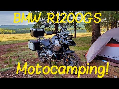 Motocamp on my BMW R1200GS Triple Black