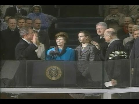 Jan. 20, 2001: Inaugural Ceremonies for George W. Bush