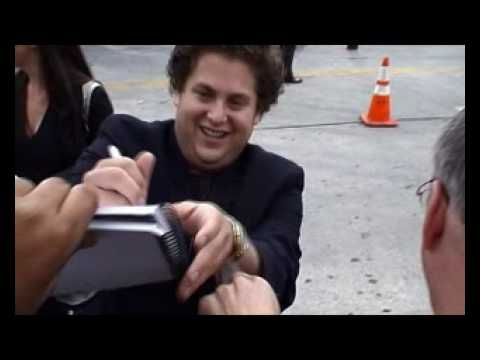 "JONAH HILL AT THE LOS ANGELES PREMIERE OF ""KNOCKED UP"""
