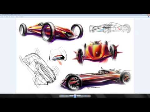 MODO for Automotive Rapid Concept Design Studios