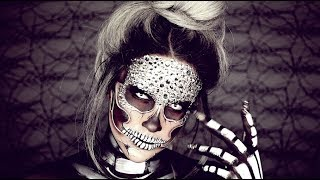Halloween Look : Diamond Skull | Nicole Guerriero