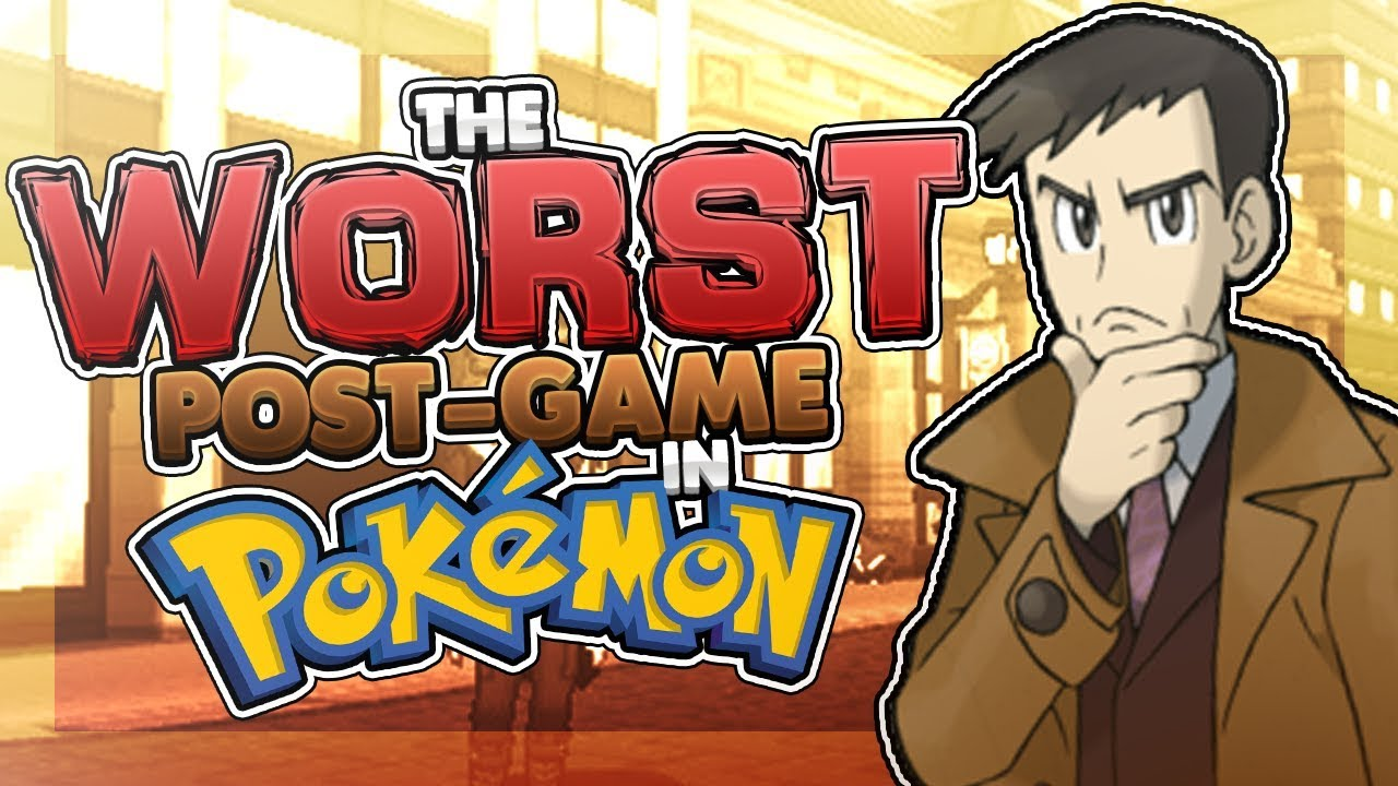 The WORST Post-Game in the Pokémon Games (Ft  KarlosPokemon)