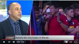 Israel Philippines relations following Duterte's election
