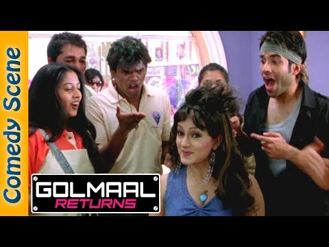 Tusshar Kapoor Comedy Scene - Golmaal Returns - Arshad Warsi - Kareena Kapoor -#Indian Comedy