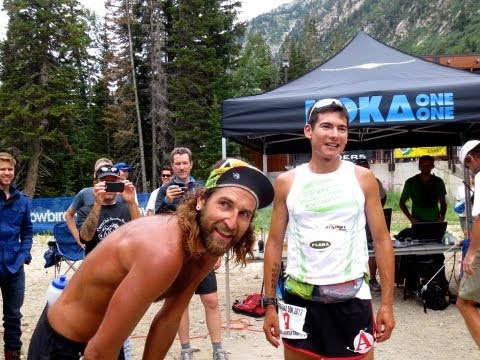 Speedgoat 50k with Sage Canaday, Anton Krupicka, Jason Schlarb, and Max King (2013)