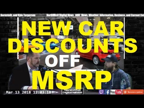 BIG DISCOUNTS off MSRP at a Car Dealer Auto, Vehicle, Dealership advice