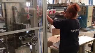圓滿包裝機械有限公司-A017 2 面紙四方盒 影片