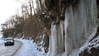 Visok snijeg i led na Pavlovici kod Novoga Ttravnika