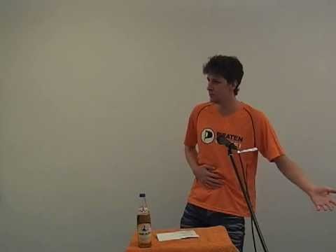 Redebeitrag von Martin Eitzenberger beim Politischen Aschermittwoch 2013 der Piraten in Stuttgart
