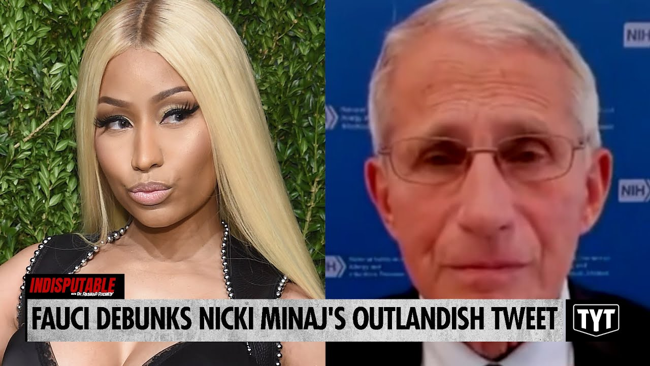 Fauci Debunks ON AIR Nicki Minaj's Outlandish Tweet