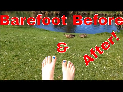 Barefoot Walking Before And After | New Zealand Spring