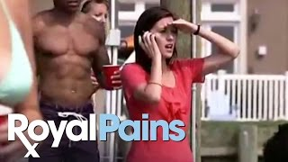"Royal Pains - ""Pit Stop"" Scene 3"