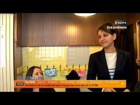 Vallaud-Belkacem promue ministre de l'éducation nationale