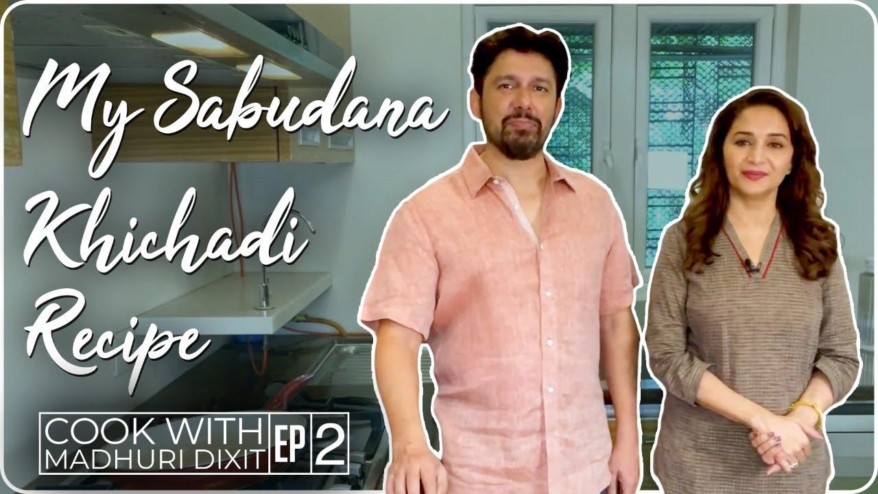 Madhuri Dixit making Sabudana Khichadi | Madhuri Dixit Nene
