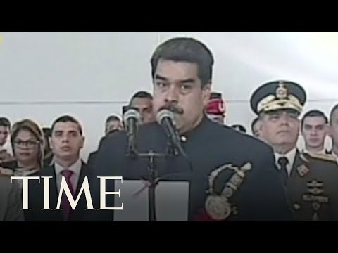 Maduro Responds To Reports That Trump Wanted To Invade Venezuela | TIME