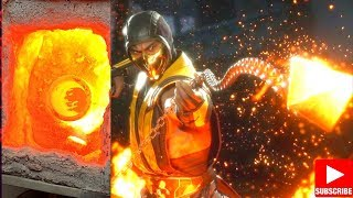 casting an Aluminum Scorpion Kunai spear from Mortal Kombat 11 from melted cans | casting aluminum