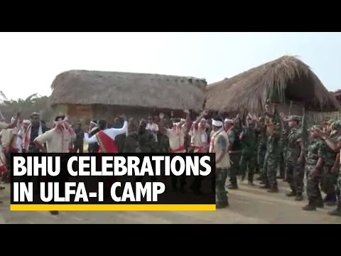 The Quint: Exclusive Video of Bihu Celebrations in the ULFA(I) Camp in Myanmar