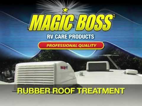MAGIC BOSS   RUBBER ROOF TREATMENT