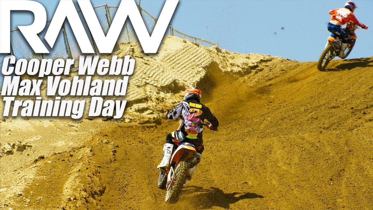 Cooper Webb & Max Vohland Training Day RAW - Motocross Action Magazine