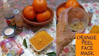 Orange Peel Face Mask For Glowing Skin Orange Peel Benefits