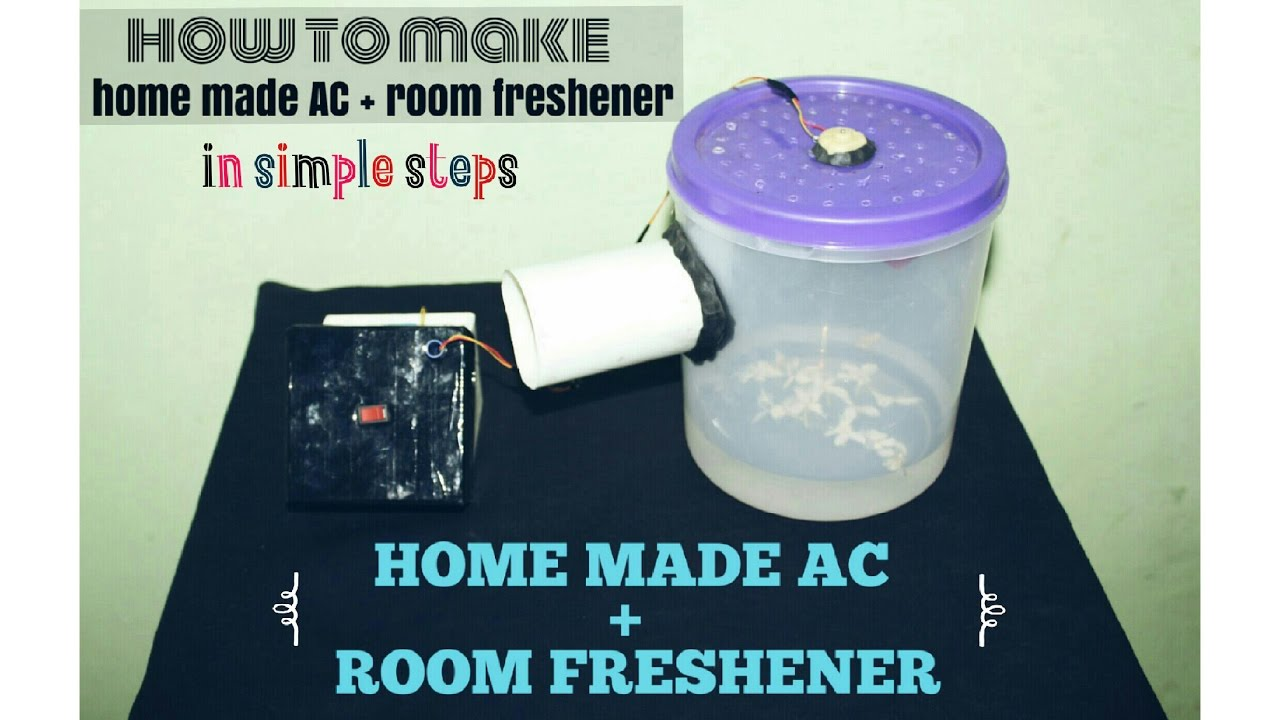 how to make homemade AC and room freshener in simple steps | DIY ...