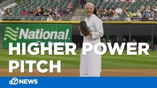 Nun dazzles with first-pitch strike at White Sox game