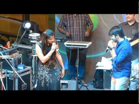Chinmayi Live - Asku Laska Ammo Ammom with Suryan FM Isaiyum Isaiyum Winner