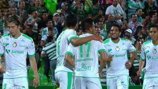 Video Gol Pertandingan Santos Laguna vs La Galaxy