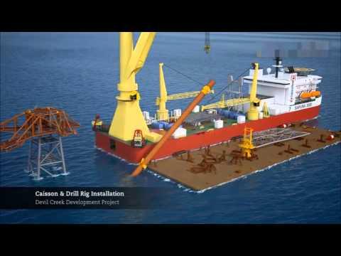 Drilling platform structures