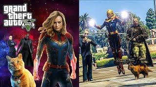 กัปตัน มาร์เวล หญิงแกร่งแห่ง MCU (Captain Marvel  GTA V Mod)