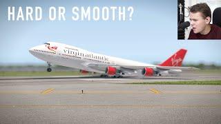 Smooth OR HARD LANDING??